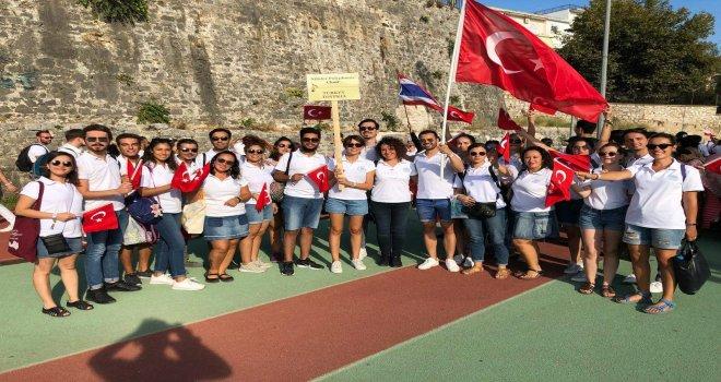 Nilüfer Çoksesli Korosu'na Yunanistan'da 3 ödül birden