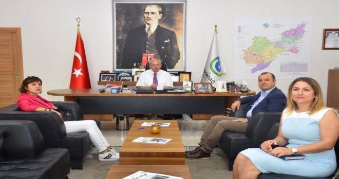 Milletvekili İlhami Özcan Aygun'dan Başkan Albayrak'a Ziyaret