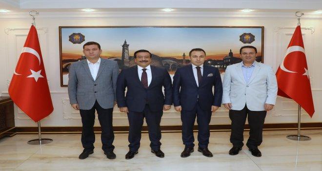 Bağlar ve Ergani'den Başkan Atilla'ya ziyaret