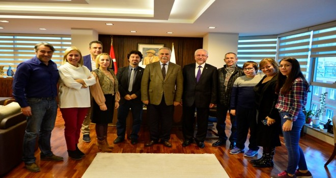 Başkan Gökhan'ın ağır misafirleri