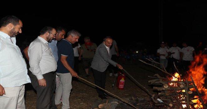 Başkan Baltacı Kamp Ateşini Yaktı