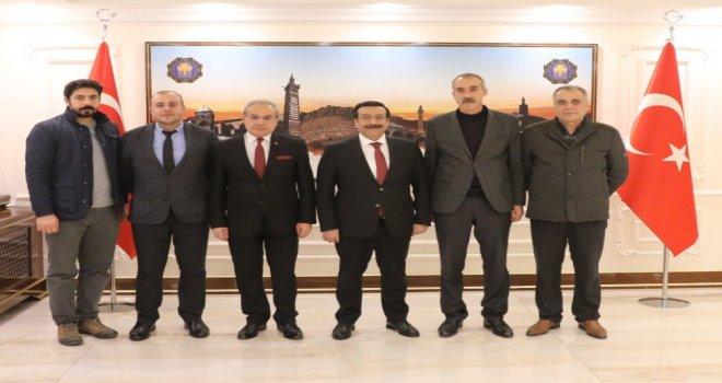 Kamu-Sen'den Başkan Atilla'ya ziyaret