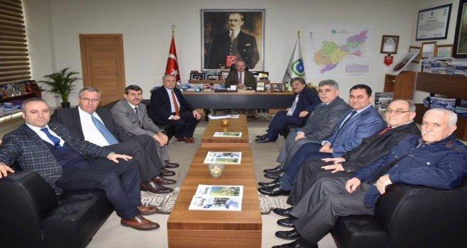 Başkan Albayrak'a Tüm Hayrabolulular Kültür ve Yardımlaşma Derneği'nden Ziyaret
