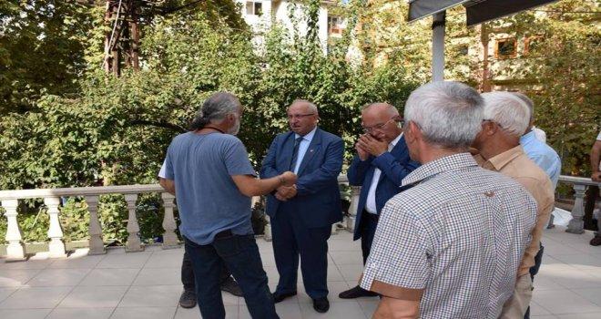 Başkan Albayrak Abdurrahman Dinçer'in Cenaze Merasimine Katıldı