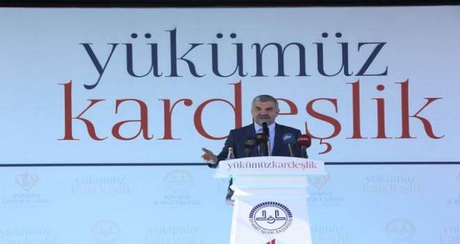 Başkan Çelik,'Nerede sıkıntı varsa  Kayseri oradadır'