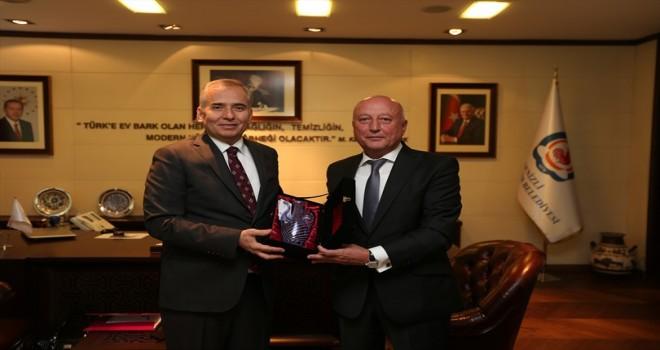 Ukrayna iş dünyasından Başkan Zolan'a ziyaret
