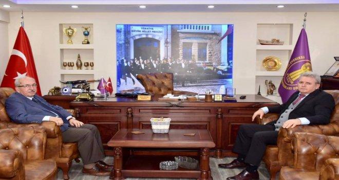 Başkan Albayrak'tan Sami Kayın'a Ziyaret