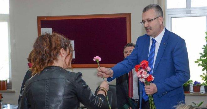 Ali Özkan'dan Avukatlar Günü'nde Adliye Ziyareti