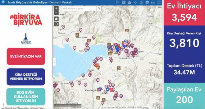Depremzedelere kira destekleri ödenmeye başlandı