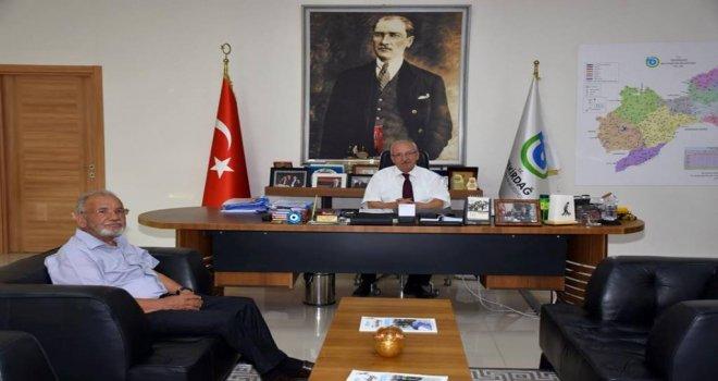 Mahmut Gürlen'den Başkan Kadir Albayrak'a Ziyaret