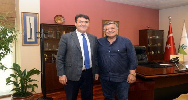 Yılmaz Vural'dan Başkan Dündar'a Ziyaret