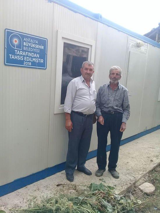 Büyükşehir Belediyesi Elmalı'da yaraları sarıyor