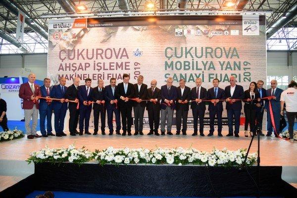 Çifte fuar açan Başkan Karalar'dan üretime, ihracata destek vurgusu