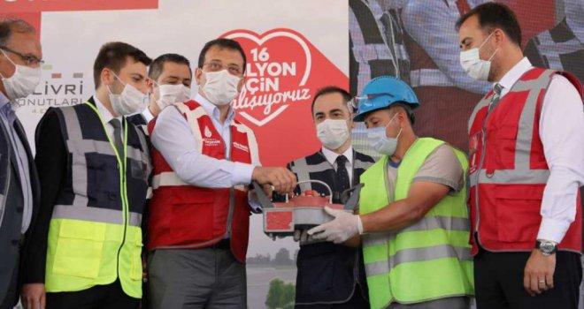 İMAMOĞLU , ''İSTANBUL'UN ÇILGIN PROJESİ DEPREMLE MÜCADELEDİR''