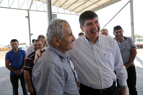 Başkan Türel Kömürcüler Hayvan Pazarını İnceledi