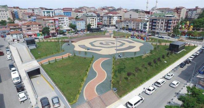 Arnavutköy'e 700 Araçlık Otopark
