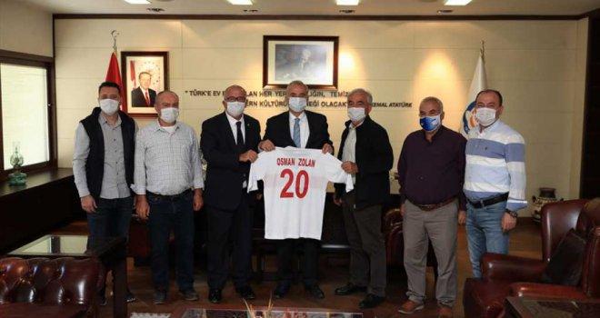 TÜFAD'dan Başkan Osman Zolan'a ziyaret