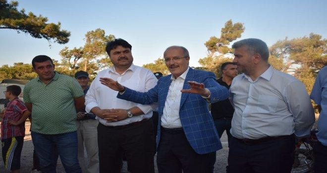 Başkan Kafaoğlu Havran'lı Seyit Onbaşı'nın memleketi Kocaseyit Mahallesi'nin yol sorunuyla ilgili net konuştu. Kafaoğlu 'Bu yol büyükşehir ya da ilçe belediyemiz hizmet sınırları kapsamında değildir a