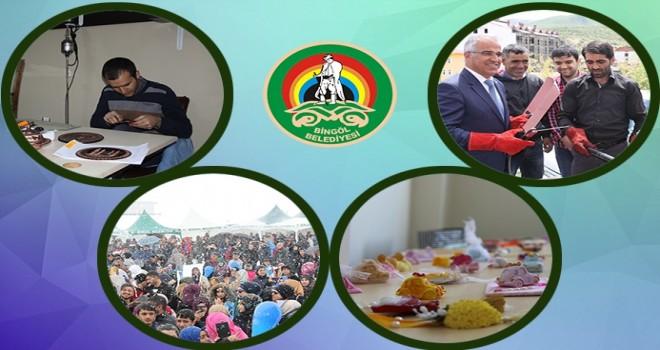 Bingöl Belediyesi Proje Ekibi,2 milyon liralık destek sağladı.