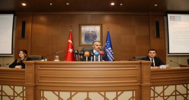 """Başkan Aktaş, """"Derdimiz, heyecanımız ve aşkımız Bursa'dır"""""""