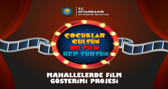 Diyarbakır'da Mahallelerde sinema gösterimleri başlıyor