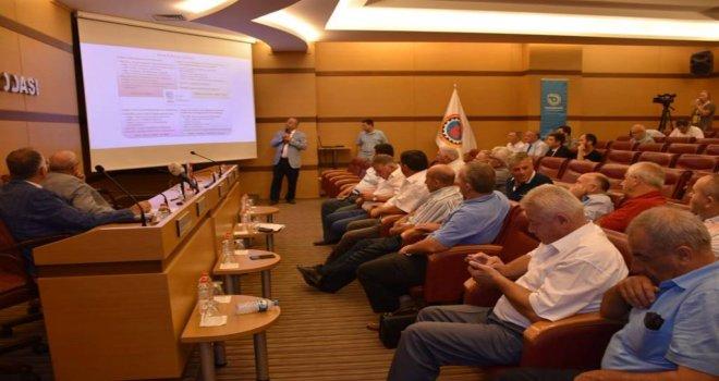 Başkan Albayrak Ziraat Odaları Bilgilendirme Toplantısına Katıldı
