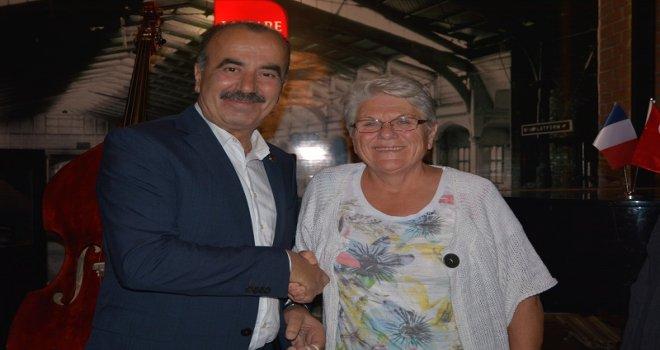 ROMORANTİN KARDEŞ ŞEHİR DERNEK BAŞKANI'NDAN TÜRKYILMAZ'A ÖVGÜ!