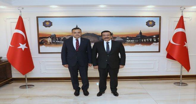 Bağlar'dan Başkan Atilla'ya Ziyaret