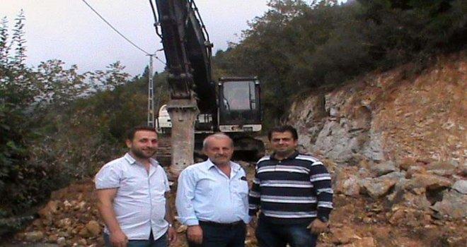 Dernekpazarı muhtarları Başkan Gümrükçüoğlu'na teşekkür etti
