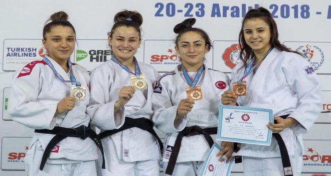 Osmangazili Judocudan Gümüş Madalya