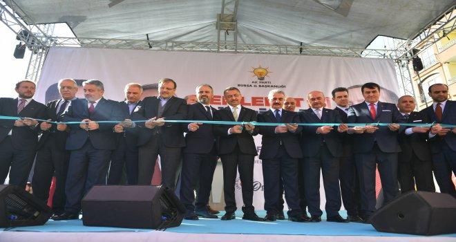 Alparslan Türkeş'in Adı Osmangazi'de Yaşayacak