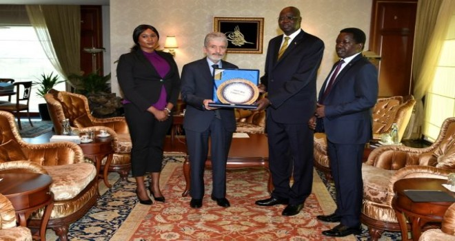 Başkan Tuna'ya  Büyükelçi ziyaretleri