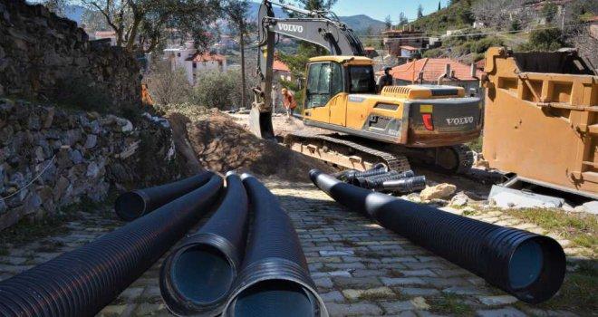 Kavaklıdere'de Kanalizasyonun 10 Bin Metresi Tamamlandı