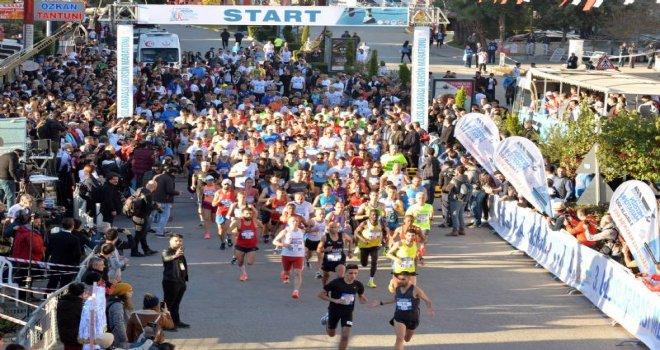 Mersin Sokakları Maratonla Renklendi