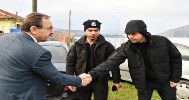 Başkan Zihni Şahin, ' Sabır ' Diledi.