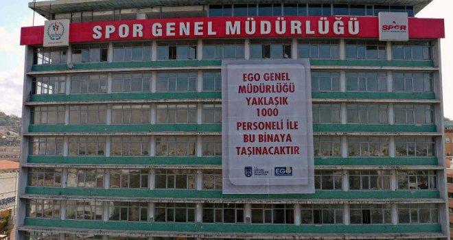 EGO GENEL MÜDÜRLÜĞÜ ULUS MEYDANI'NA TAŞINIYOR