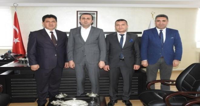 Başkan Bedirhanoğlu'na Gül'den ziyaret.