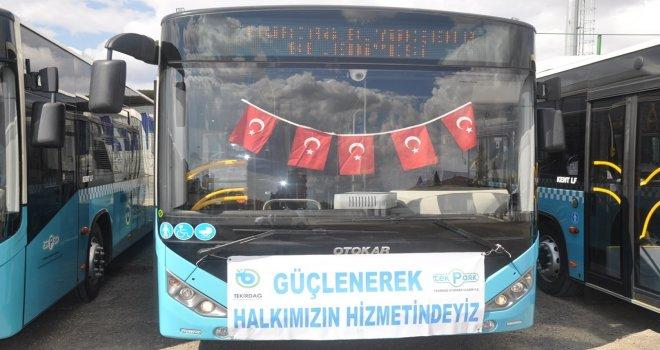 Tekirdağ'da Kurban Bayramı'nda Toplu Taşıma Ücretsiz