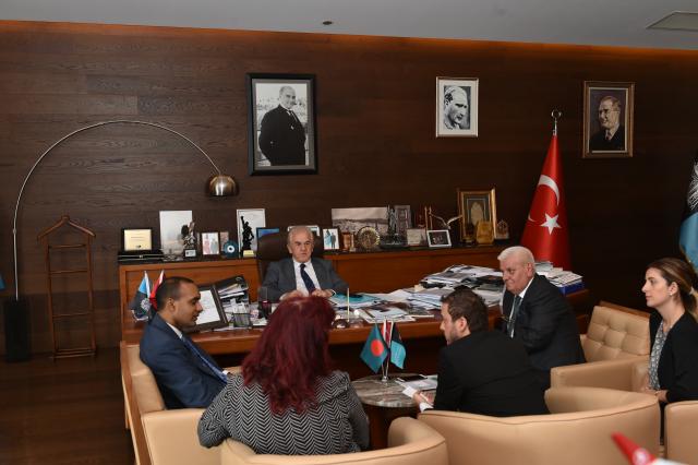 Bangladeş Halk Cumhuriyeti İstanbul Başkonsolosu'ndan Ziyar...