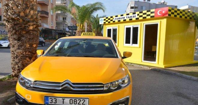 Taksicilerin Yeni Durakları Büyükşehir?den