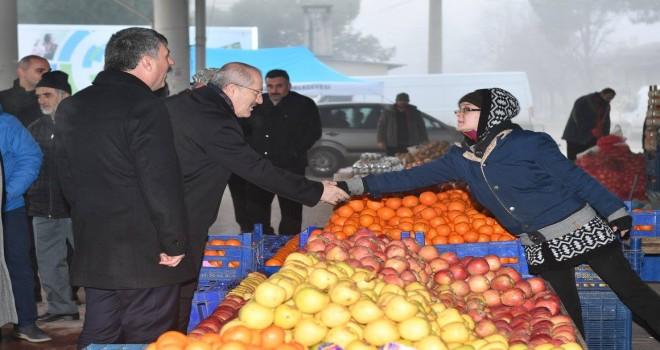 Başkan Kafaoğlu Kepsut'taydı