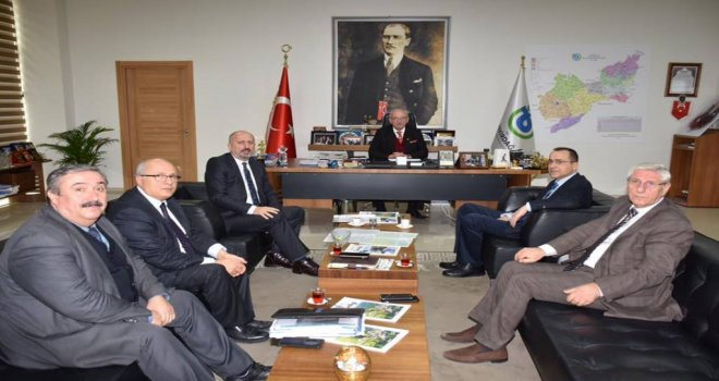 Trakya Doğalgaz'dan Başkan Albayrak'a Ziyaret