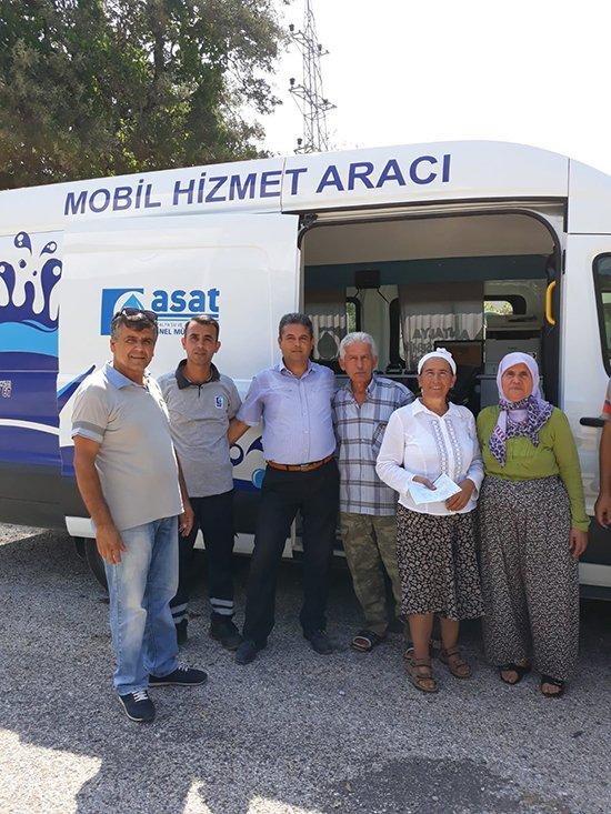 ASAT mobil aracı Demre'de