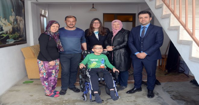 Osmangazi'de İhtiyaç Sahibi Ailelerin Yüzü Gülüyor