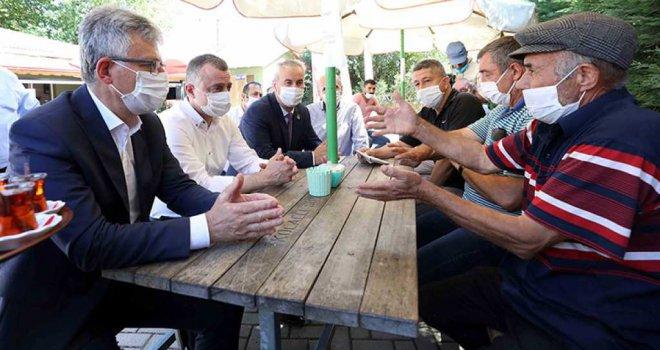 Başkan Büyükakın, Gebze'nin beş köyünde vatandaşla buluştu