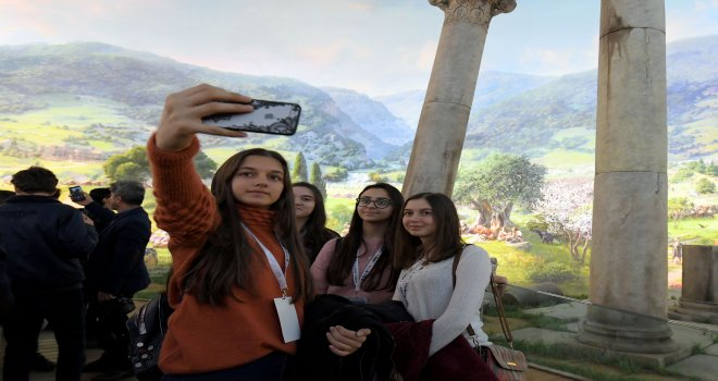 Bilim Kampı Öğrencilerinden Fetih Müzesi'ne Ziyaret