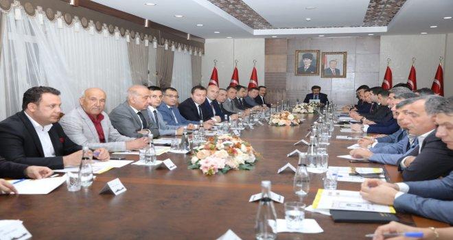 Başkan Atilla Diyarbakır Tanıtım Günleri Fuarı toplantısına katıldı