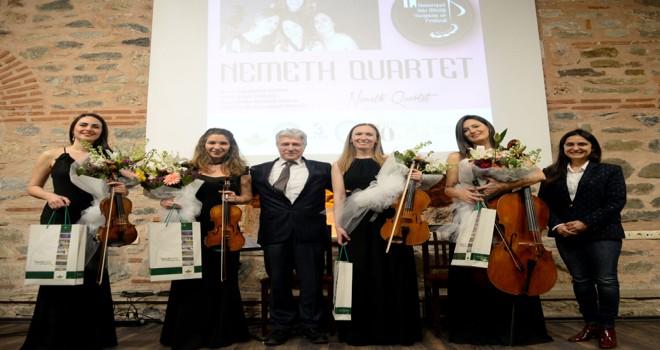 Oda Müziği Festivali'nde Nemeth Quartet Rüzgarı