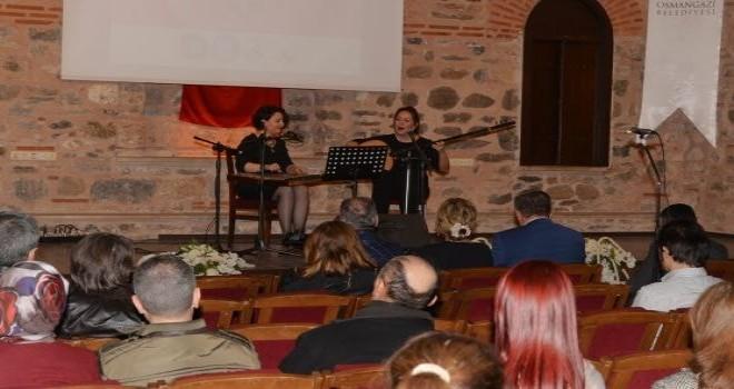 Osmangazi'den Kadınlar Gününe Özel Konser