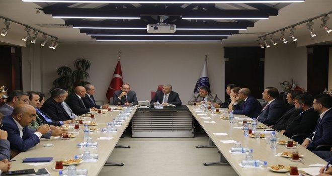 KTO'dan Başkan Çelik'e Ziyaret